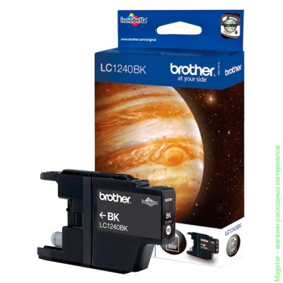 Картридж Brother LC1240BK для DCP-J525W / DCP-725DW / DCP-925DW / DCP-J430W / DCP-625DW / DCP-825DW / DCP-6510DW / DCP-6710DW / DCP-6910D / MFC-J6510DW / MFC-J6910DW